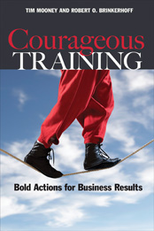 Courageous Training book cover
